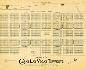 Clark's Las Vegas Townsite